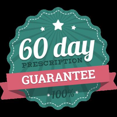 60 day guarantee graphic